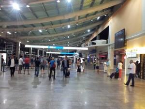 Faro Airport arrivals
